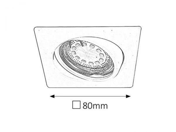 Set 3 Spoturi Lite Rabalux, 1056, crom, 3xGU10 3W, 240lm