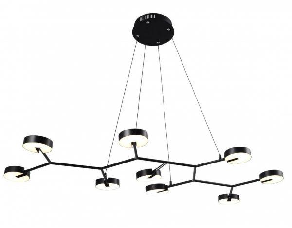 Suspensie led DRIFTER 9, 1490002 negru, lumina calda, 3900lm