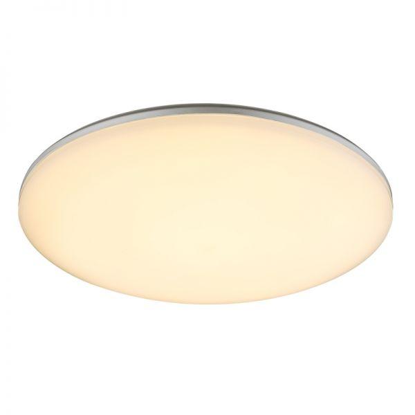 Plafoniera exterior Dori Globo, 32118-24, Argintiu, LED 24W, Lumina Calda, 1900lm