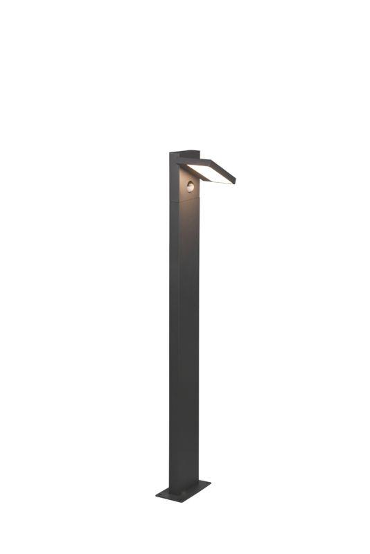 Stalp Exterior LED Horton, 426369142, Antracit, LED 8W, Lumina Calda, 1000lm