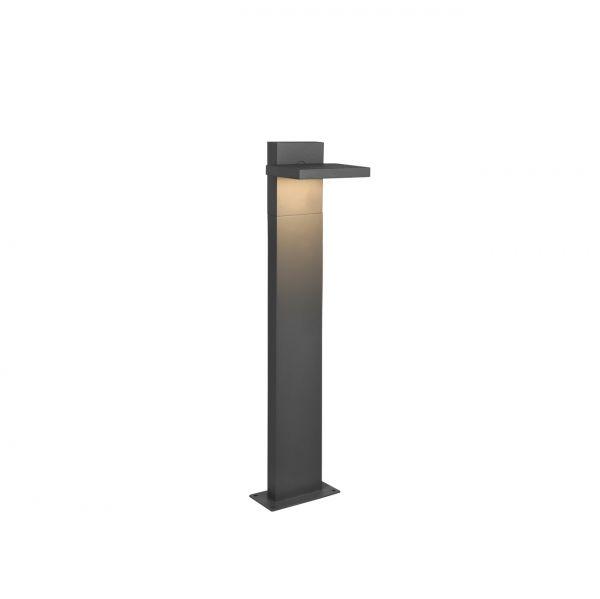 Stalp Exterior LED Horton, 526360142, Antracit, LED 8W, Lumina Calda, 1000lm