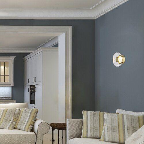 Aplica LED Lorell Rabalux, 5392, Auriu, LED 8W, Lumina Rece, 640lm