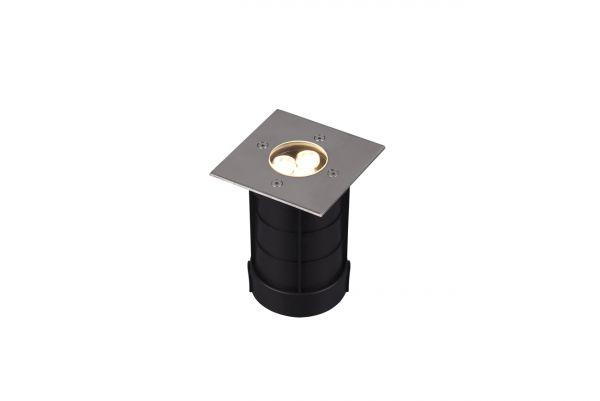 Spot Incastrat LED Belaja, 821669107, Nichel, LED 3W, Lumina Calda, 180lm