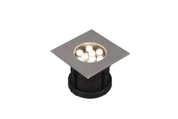 Spot Incastrat LED Belaja, 821669207, Nichel, LED 9W, Lumina Calda, 540lm