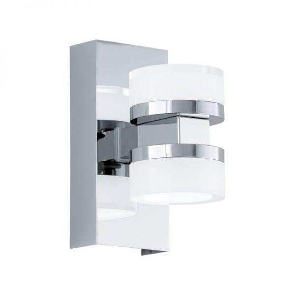 Aplica Romendo Eglo, 94651, crom, LED 2x4.5W, Lumina Calda, 960lm