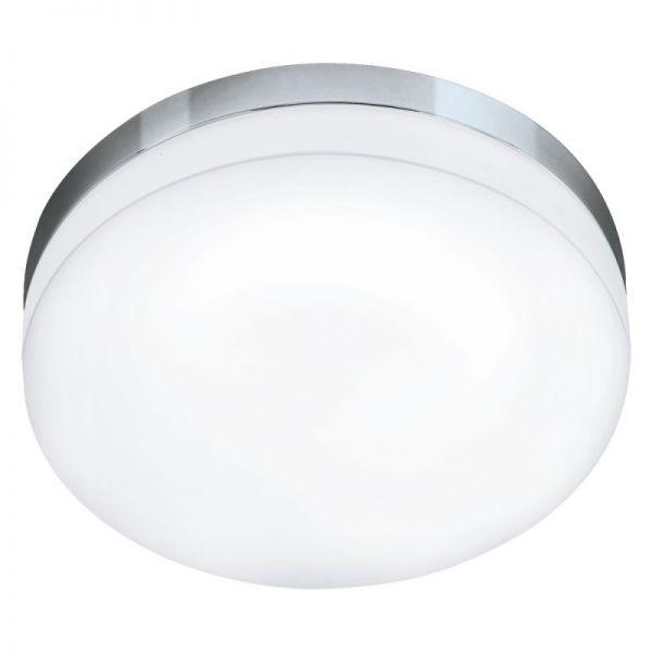 Plafoniera baie Led Lora Eglo, 95001, Crom, LED 16W, Lumina Calda, 1500lm