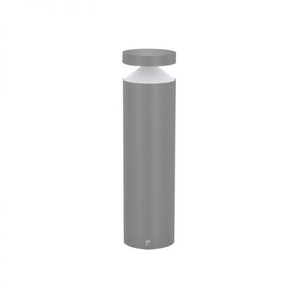 Stalp exterior Melzo Eglo, 97631, Argintiu, LED 11W, Lumina Calda, 950lm