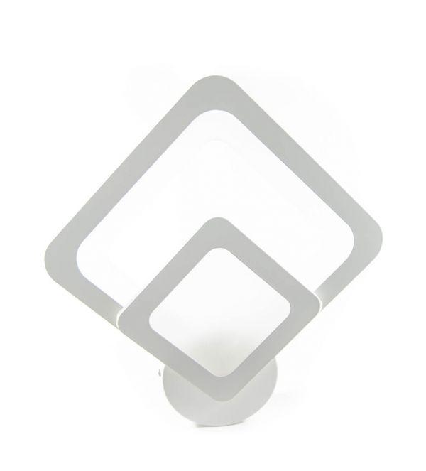 Aplica LED 10w, 1000 lm, Lumina variabila, Alb, Patrat, IP20