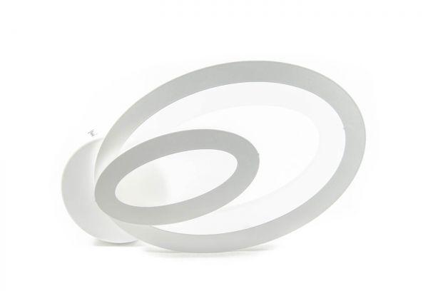 Aplica LED 10w, 1000 lm, Lumina variabila, Alb, Oval, IP20