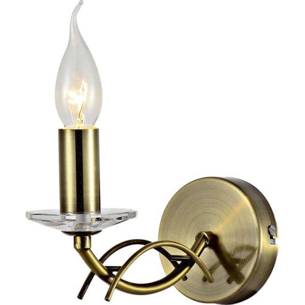 Aplica Carrara Klausen, KL6101, bronz, 1xE14