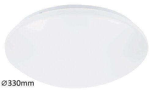 Plafoniera baie LED Lucas Rabalux, 3438, alb, LED 18W, Lumina Neutra, 1170lm