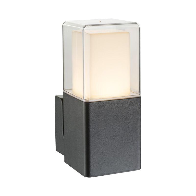 Aplica exterior Dalia Globo, 34575W, Negru, LED 12W, Lumina Calda, 600lm