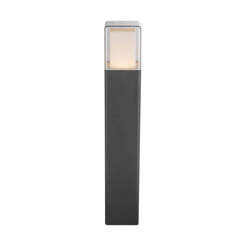 Stalp exterior Dalia Globo, 34576, Negru, LED 12W, Lumina Calda, 600lm