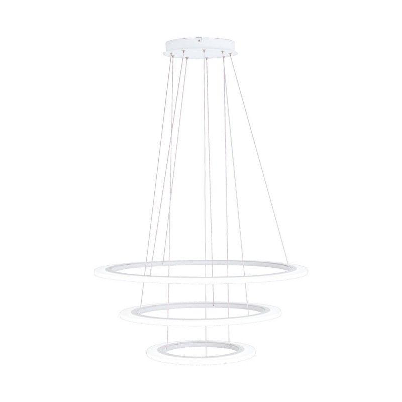 Lustra Penaforte Eglo, 39274, Alb, LED 91.5W, Lumina Calda, 5000lm