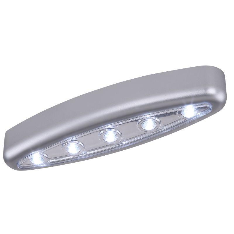 Aplica Aliano Globo, 42417, Argintiu, LED 0,2W, Lumina Rece, 18lm