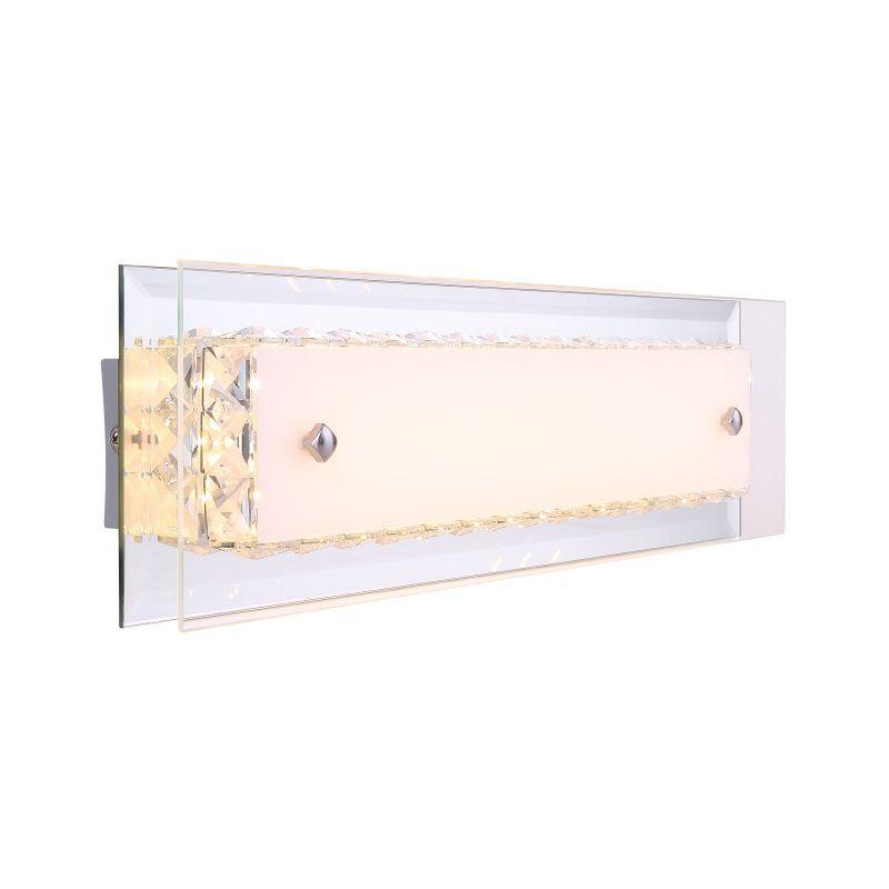 Aplica Mataro Globo, 49344W, Argintiu, LED 10W, Lumina Calda, 650lm