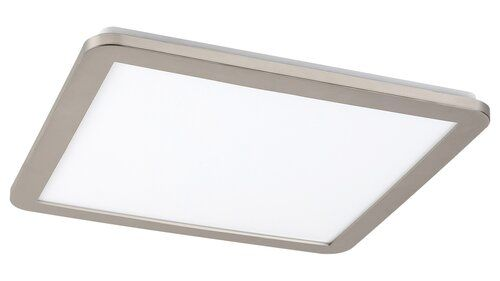Plafoniera baie LED Jeremy Rabalux, 5210, Argintiu, LED 24W, Lumina Rece, 1500lm