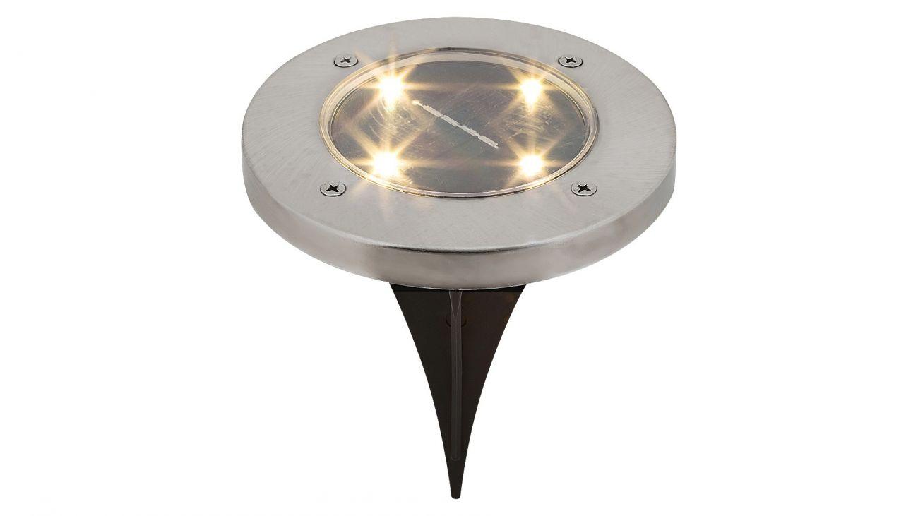 Lampa solara Dannet Rabalux, 7975, crom satin, 0.24W, 4lm