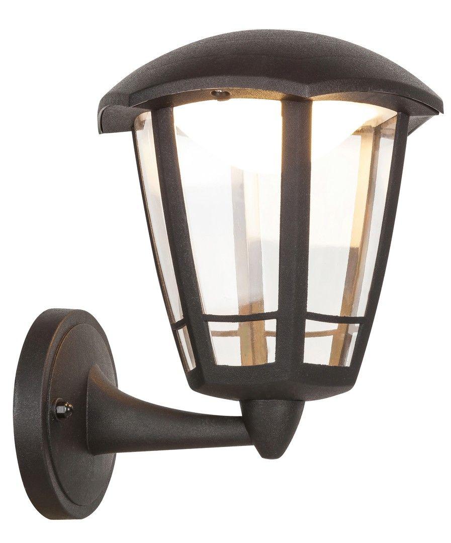 Aplica exterior Sorrento Rabalux, 8126, neagra, LED 8W, Lumina Calda, 500lm