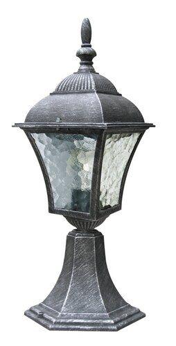 Stalp exterior Toscana Rabalux, 8398, Argintiu antichizat, 1xE27
