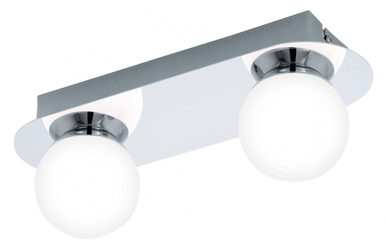 Aplica Mosiano Eglo, 94627, crom, LED 2x3.3W, Lumina Calda, 340lm