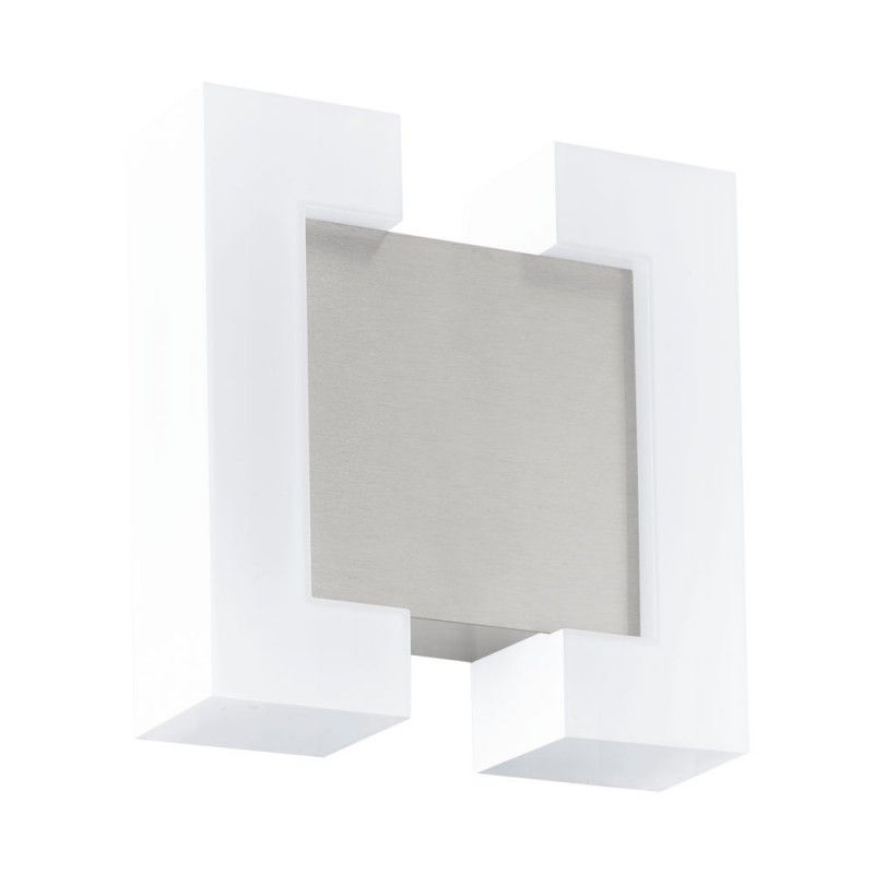 Aplica Exterior Sitia Eglo, 95987, Nichel, LED 9.6W, Lumina Calda, 1100lm