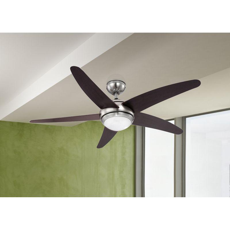 Ventilator Fabiola Globo, 0306, nichel, 1xR7s