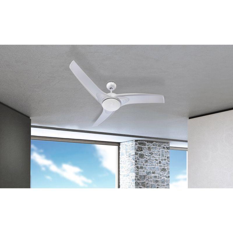 Ventilator Primo Globo, 0305, argintiu, 2xE14
