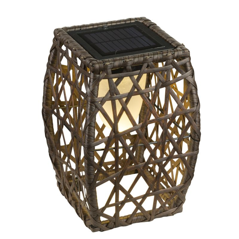 Lampa solara Globo, 33065, maro, LED 15x0.06W, 22.5lm