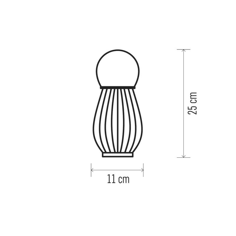 Decoratiune Craciun Felinar cu lumanare Emos, 2226, Metal, 1 LED, 0.06W, Lumina Calda