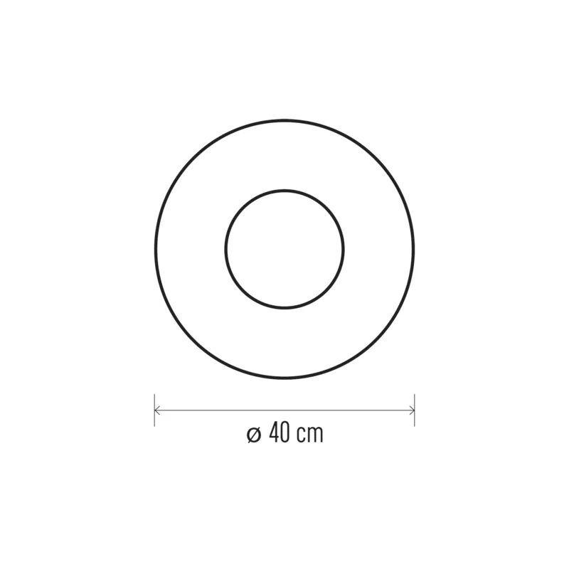 Decoratiune Craciun Coronita brad rotunda Emos, 2244, 20 LED 0.6W, Lumina Calda
